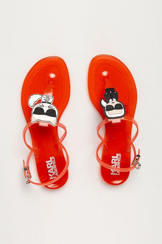 oranžová Karl Lagerfeld - Sandále