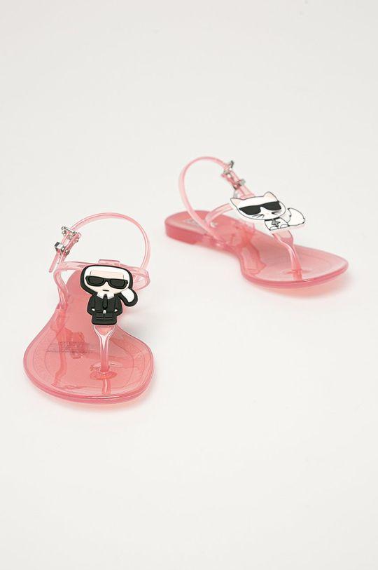 Karl Lagerfeld - Sandály růžová