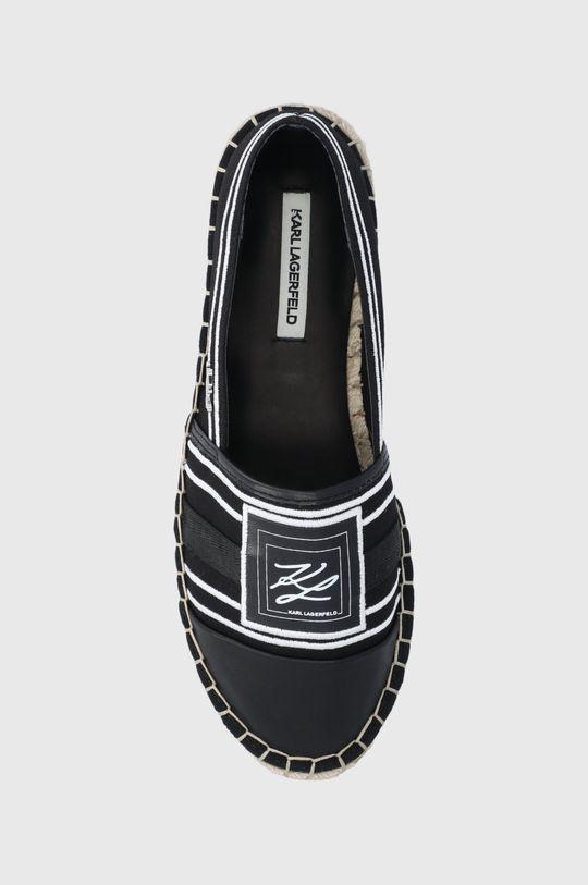 czarny Karl Lagerfeld - Espadryle