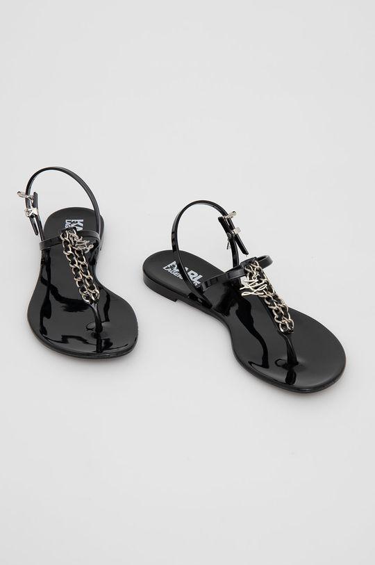Karl Lagerfeld - Sandály černá