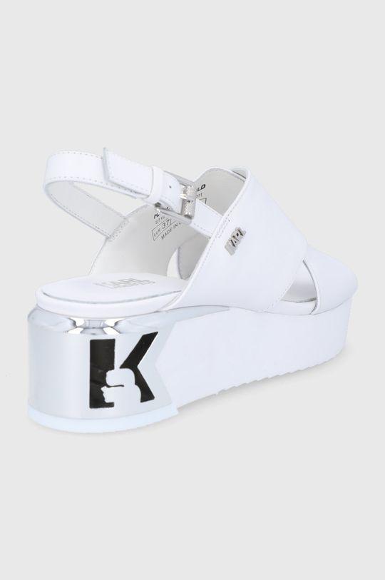 Karl Lagerfeld - Sandały skórzane Cholewka: Skóra naturalna, Wnętrze: Skóra naturalna, Podeszwa: Materiał syntetyczny