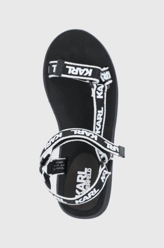 czarny Karl Lagerfeld - Sandały