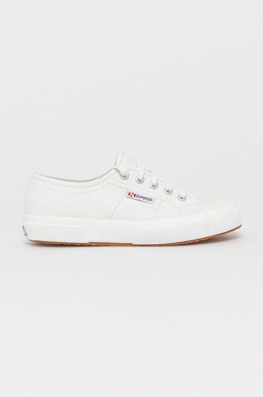 biały Superga - Tenisówki Damski