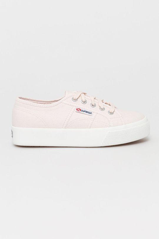 pastelowy różowy Superga - Tenisówki Damski