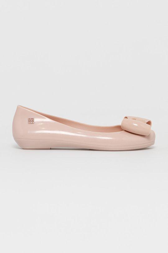 pastelowy różowy Zaxy - Baleriny Damski