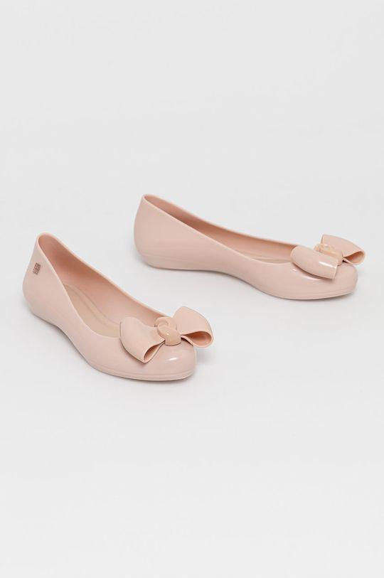 Zaxy - Baleriny pastelowy różowy