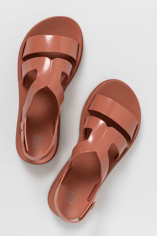 brązowy Zaxy - Sandały