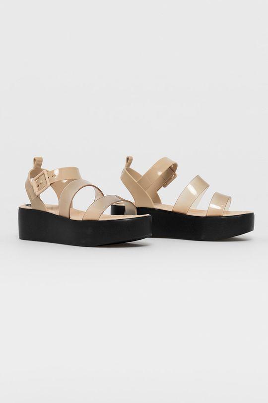 Zaxy - Sandały kremowy
