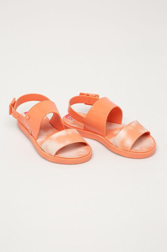 Zaxy - Sandály oranžová