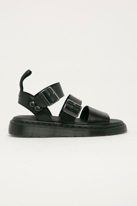 černá Dr. Martens - Kožené sandály Gryphon D Dámský