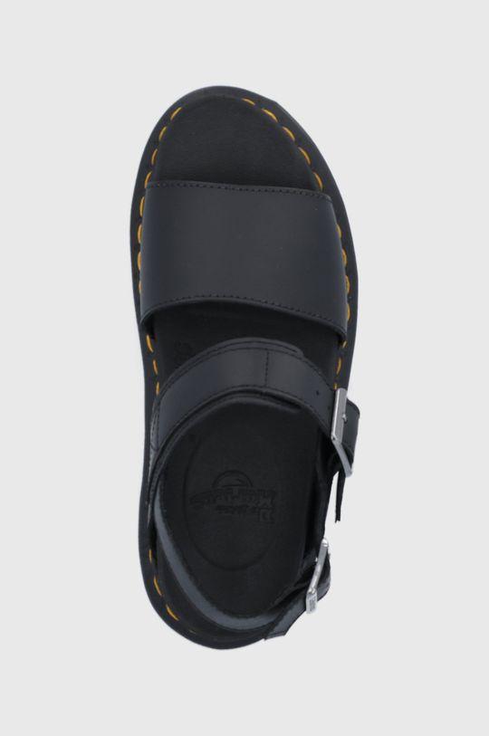 čierna Dr. Martens - Kožené sandále Voss