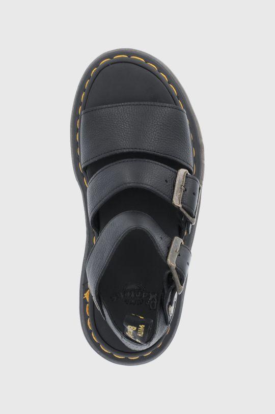 czarny Dr. Martens - Sandały skórzane Gryphon Quad