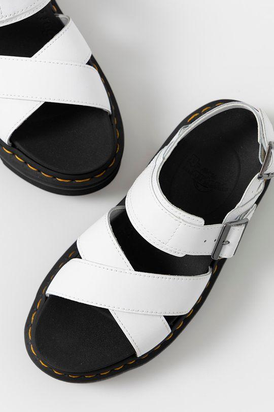 Dr. Martens - Kožené sandále Voss II  Zvršok: Prírodná koža Vnútro: Syntetická látka Podrážka: Syntetická látka