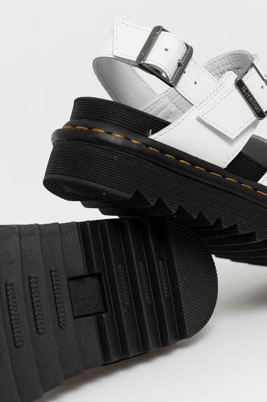 biela Dr. Martens - Kožené sandále Voss II