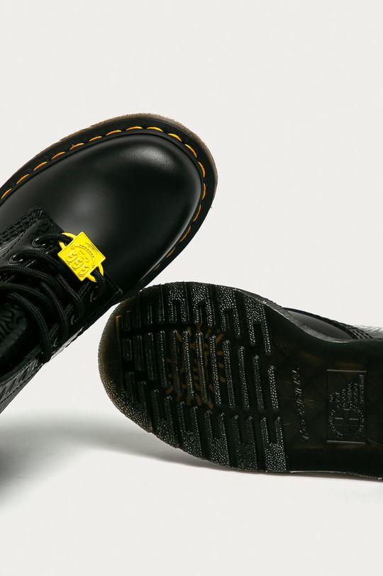 černá Dr. Martens - Kožené workery x Keith Haring