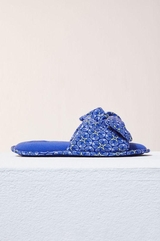 jasny niebieski Etam - Kapcie Assia Damski