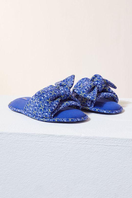 Etam - Kapcie Assia jasny niebieski