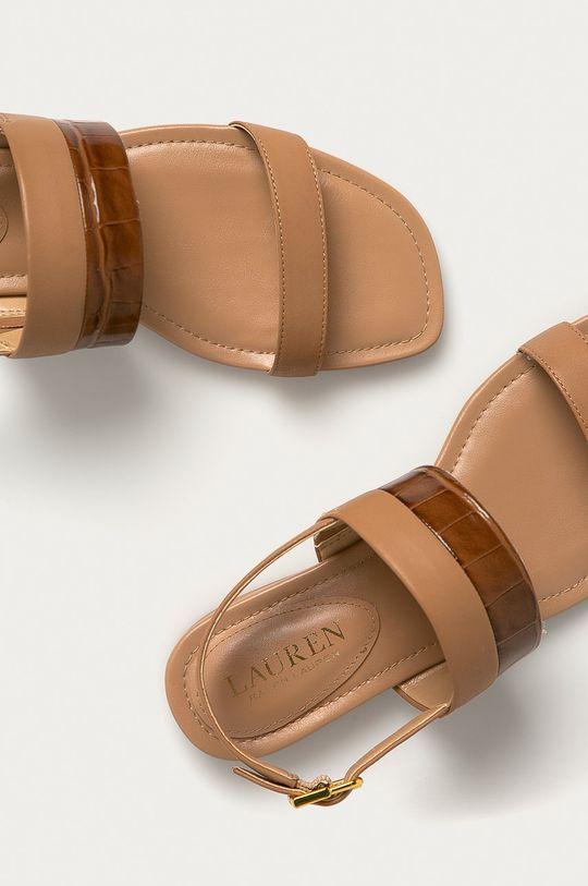 Lauren Ralph Lauren - Kožené sandále Dámsky