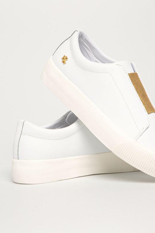 Lauren Ralph Lauren - Kožená obuv  Zvršok: Textil, Prírodná koža Vnútro: Syntetická látka, Textil Podrážka: Syntetická látka