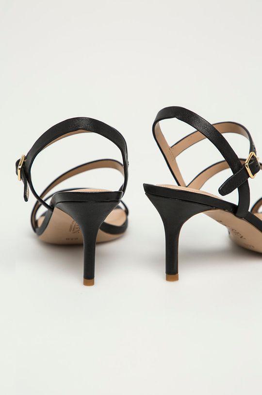 Lauren Ralph Lauren - Kožené sandály  Svršek: Přírodní kůže Vnitřek: Přírodní kůže Podrážka: Umělá hmota