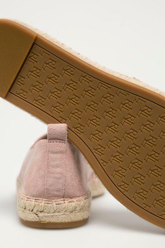 Lauren Ralph Lauren - Semišové espadrilky  Svršek: Semišová kůže Vnitřek: Umělá hmota, Textilní materiál Podrážka: Umělá hmota