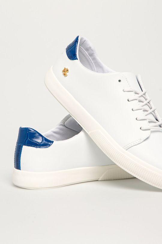 Lauren Ralph Lauren - Kožená obuv  Zvršok: Prírodná koža Vnútro: Textil Podrážka: Syntetická látka