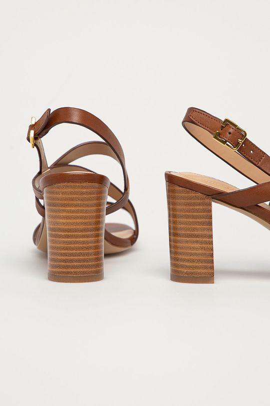 Lauren Ralph Lauren - Kožené sandály  Svršek: Přírodní kůže Vnitřek: Umělá hmota, Přírodní kůže Podrážka: Umělá hmota