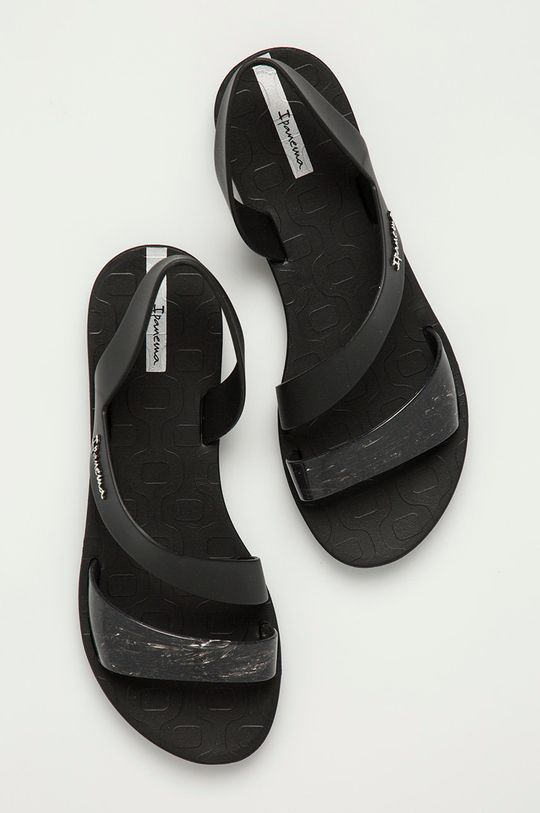 czarny Ipanema - Sandały