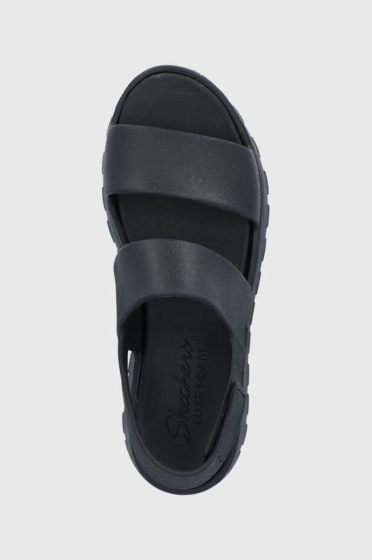 czarny Skechers - Sandały