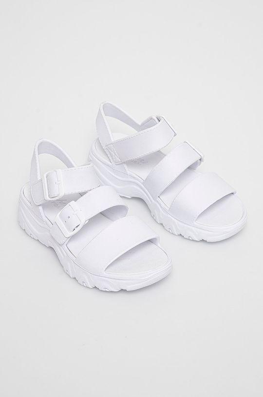 Skechers - Sandały biały