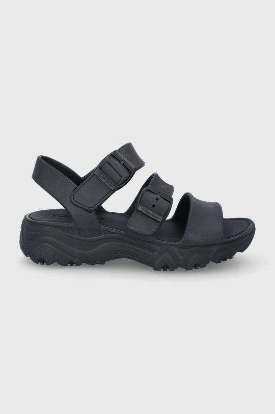 černá Skechers - Sandály Dámský