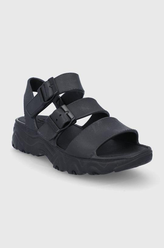 Skechers - Sandály černá