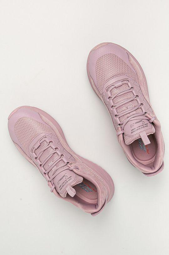 purpurová Skechers - Boty