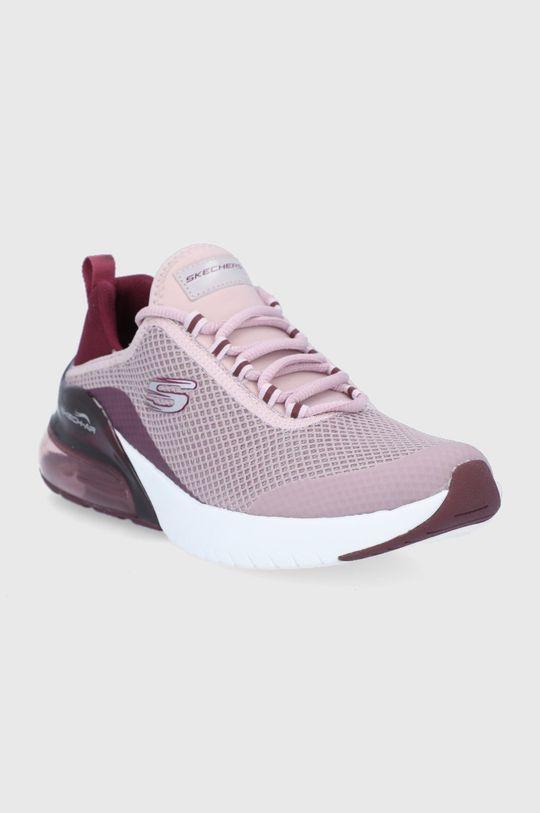 Skechers - Topánky purpurový