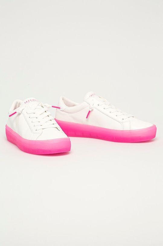 Skechers - Tenisówki biały