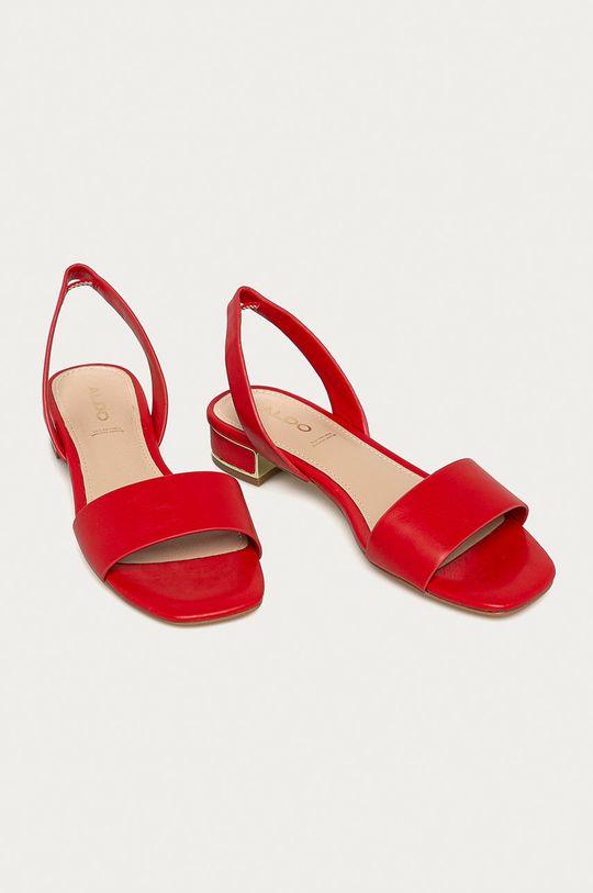 Aldo - Sandały Candal czerwony