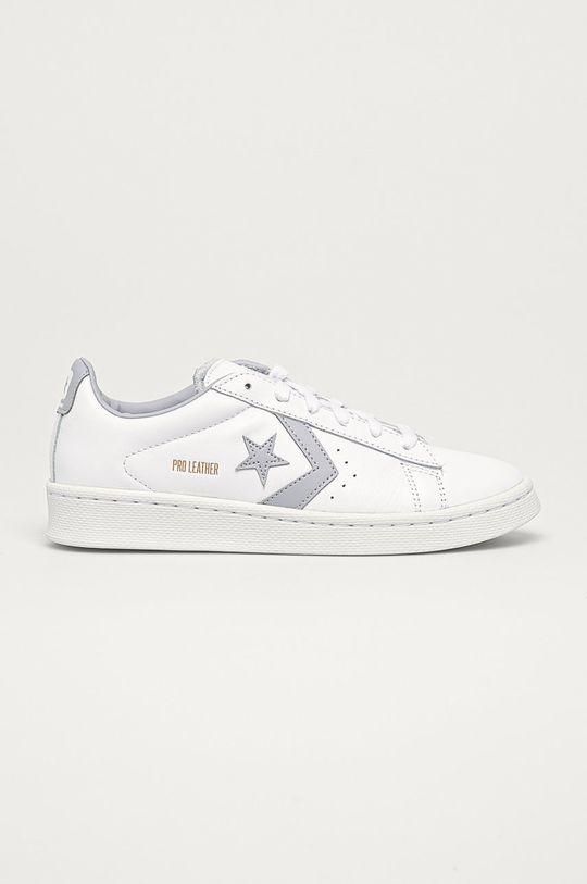 bílá Converse - Kožené boty Dámský