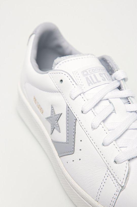 bílá Converse - Kožené boty