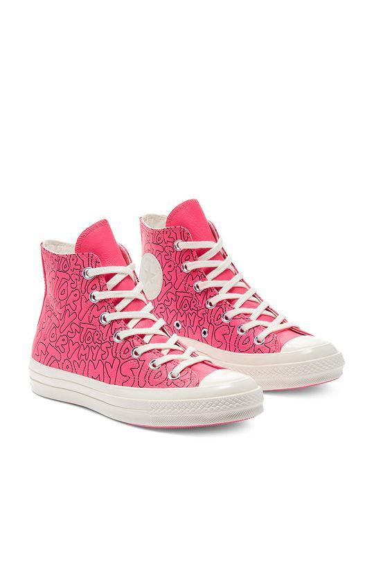 Converse - Trampki skórzane ostry różowy