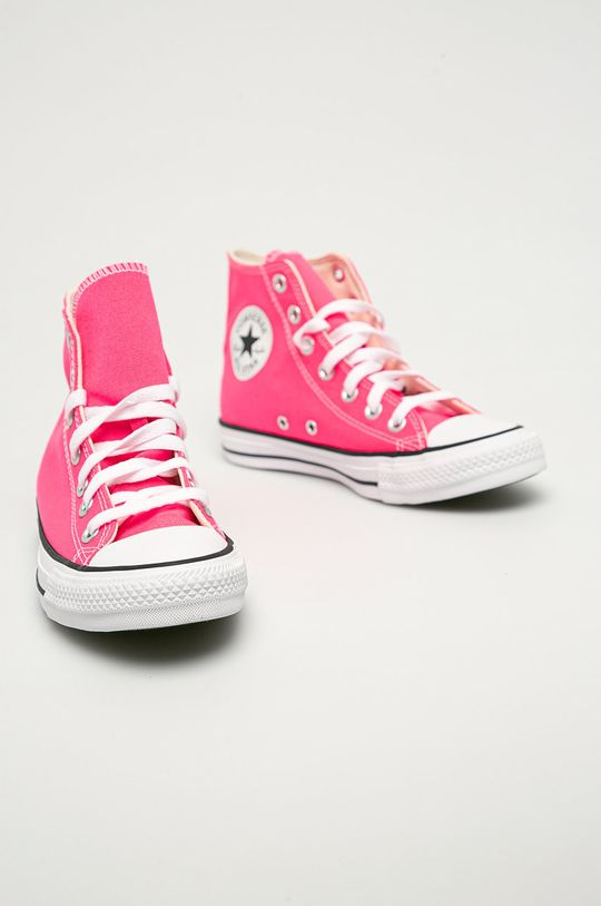 Converse - Kecky ostrá růžová