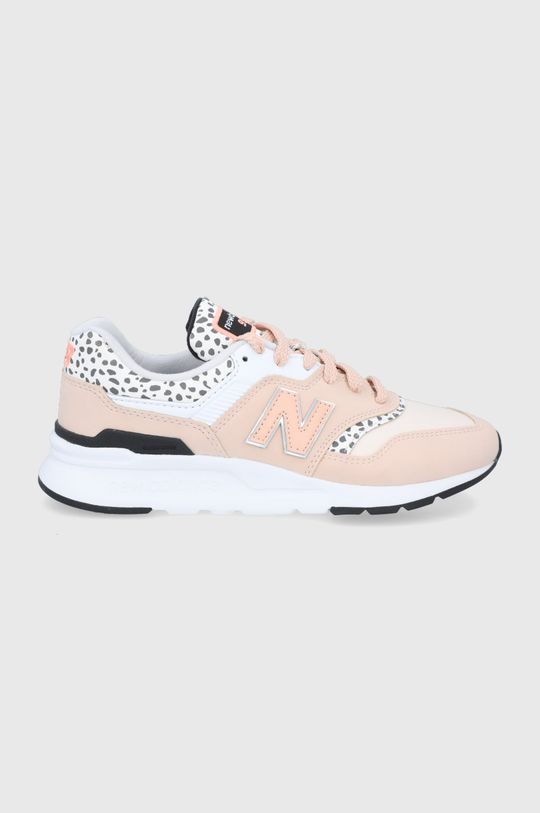 pastelová ružová New Balance - Topánky CW997HPR Dámsky