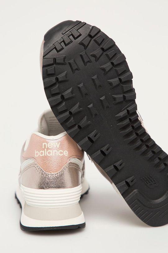 New Balance - Buty skórzane WL574PM2 Cholewka: Skóra naturalna, Wnętrze: Materiał tekstylny, Podeszwa: Materiał syntetyczny
