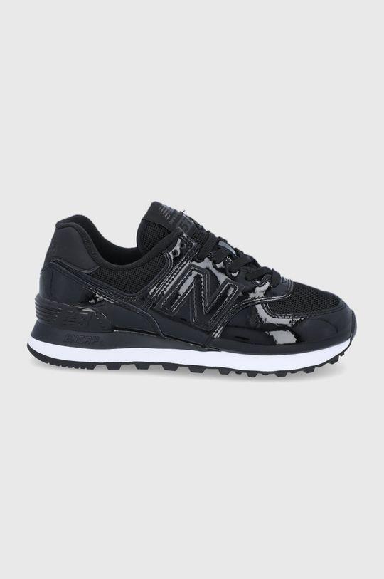 čierna New Balance - Topánky WL574TA2 Dámsky