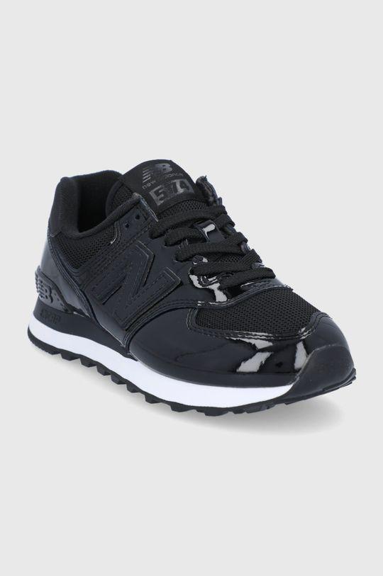 New Balance - Topánky WL574TA2 čierna