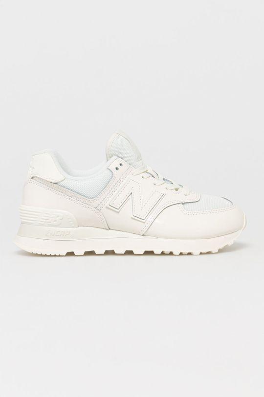 biały New Balance - Buty WL574TC2 Damski