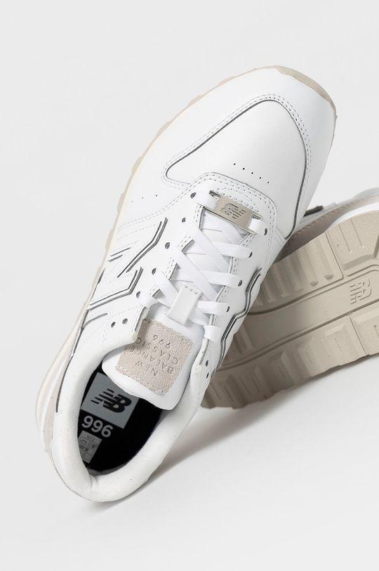 biały New Balance - Buty WL996FPS