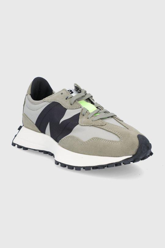 New Balance - Topánky WS327BB olivová