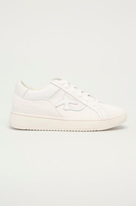 bílá Pinko - Kožené boty Dámský