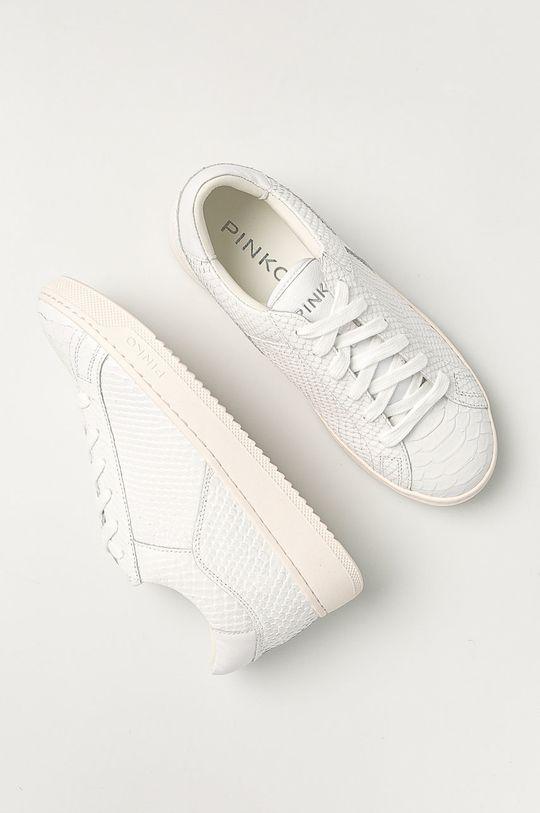 biela Pinko - Kožená obuv