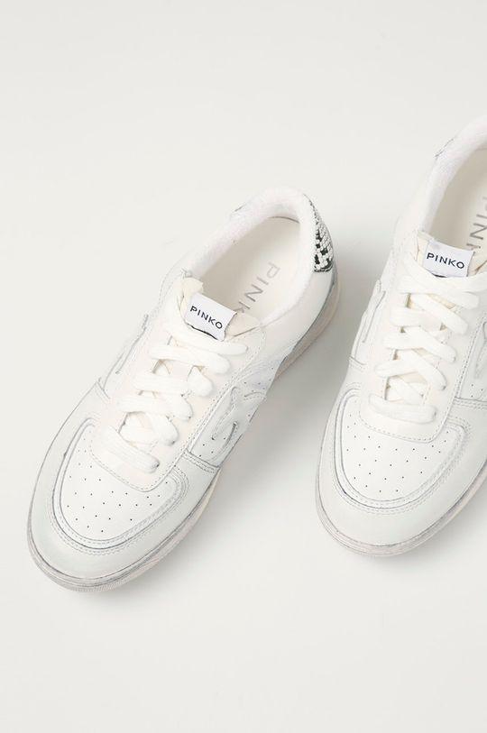 bílá Pinko - Kožené boty